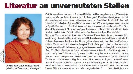 Stift-Laube in BOX / Südsteiermarkmagazin